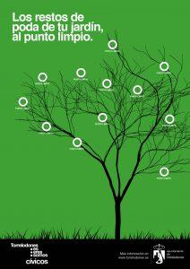 cartel A3 campaña podas