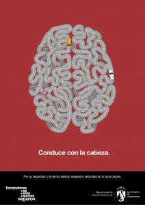 cerebro conduce con cabeza